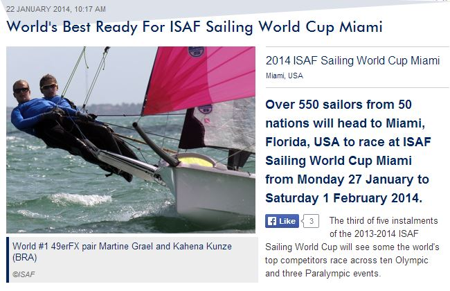 ISAF World Cup Miami